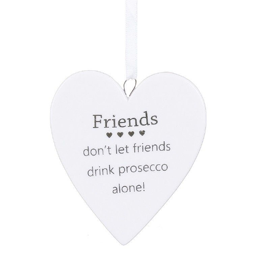 Transomnia - Ceramic Prosecco Friends Heart